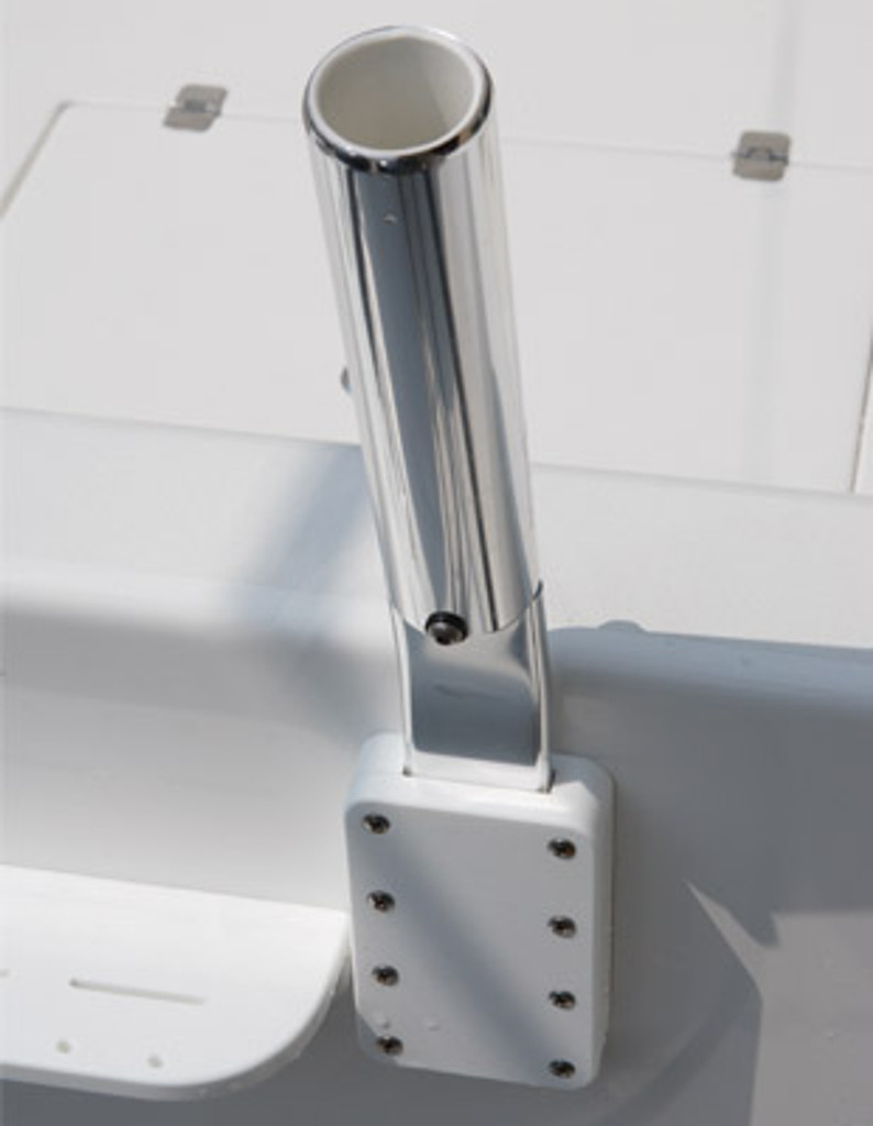 Flat Blade Rod Holder with mounting pocket