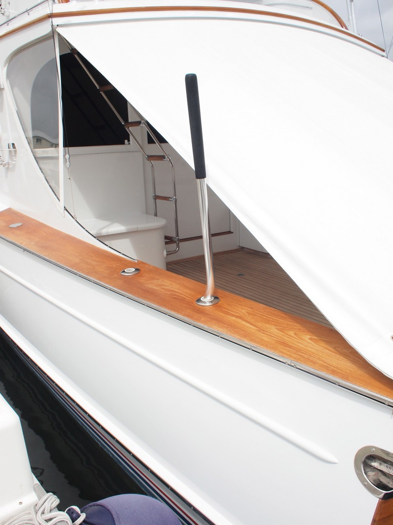 Come Aboard - Safety grab handle for rod holder
