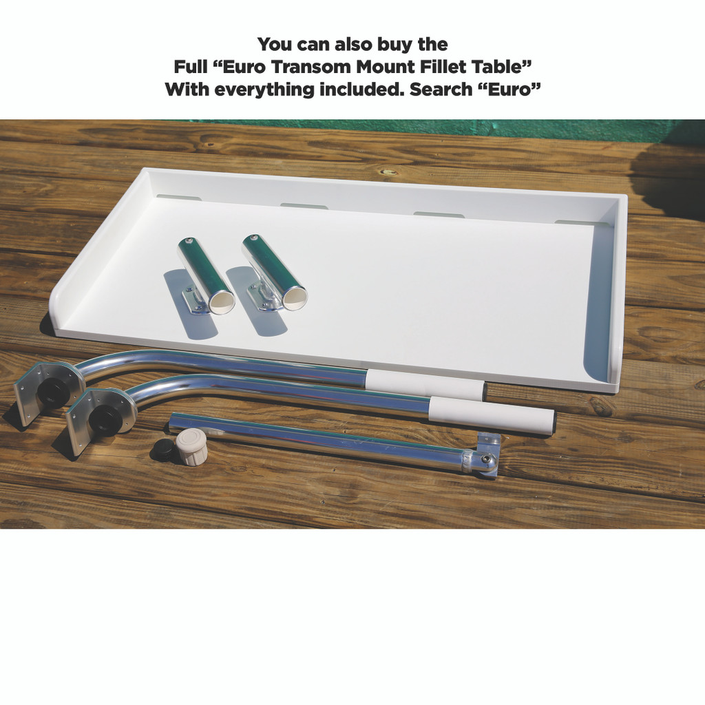 Transom Fillet Table Arms & Optional Leg Kit (Only)