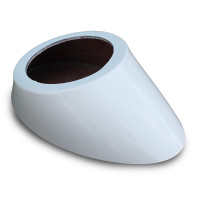 Beautiful heavy duty oval contoured fiberglass speaker box