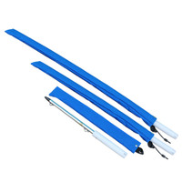 """72"""" Rod Butt Flag Staffs with Lanyard """"Shock Cord"""""""