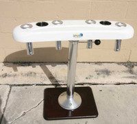 """36"""" Pedestal Rocket Launcher (Recessed Tray)"""