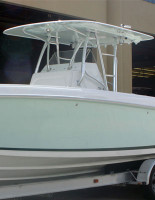 Birdsall Marine Large Fiberglass hardtop recomeded for boats 30' and larger.