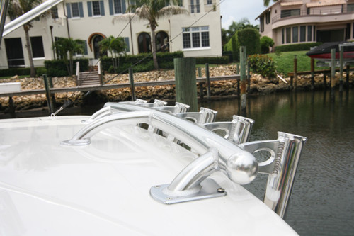 This photo shows the Drop Down Rod Holders option