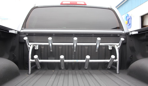 11 Removable Rod Holder Rack for Truck Bed