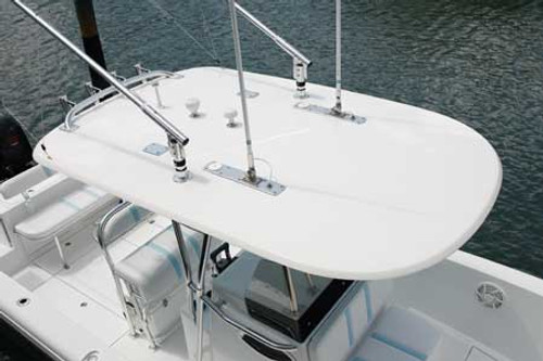 """Small Hardtop measures 70"""" x 109"""" fetures a drip edge around the perimeter. This top is ideal for center console boats 20-30ft."""