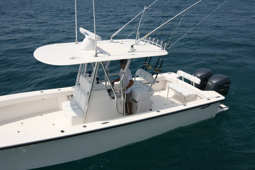 """Birdsall Marine Large hardtop with overall dimensions of 81"""" x 131"""""""