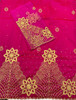 2pc Wrapper # 29 (Hot Pink) with  Blouse Piece