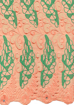 Voile Lace 208 (Peach)