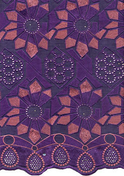Voile Lace 219 (Purple)