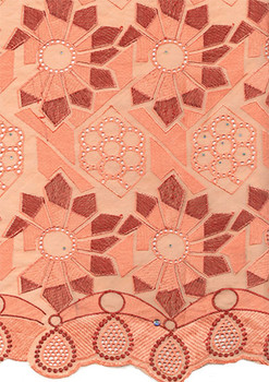 Voile Lace 222 (Peach)