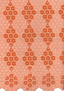Voile Lace 238 (Peach)