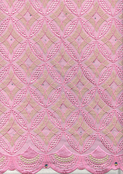 Voile Lace 255  (Pink)