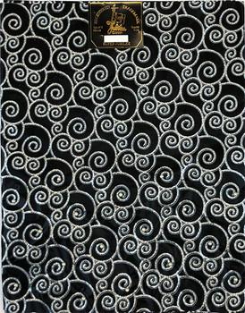 2 pcs Sego Headtie 17 (Black/Silver)