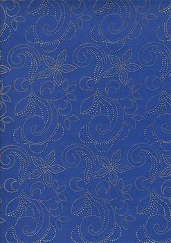 2pcs Sego Headtie # 31 (Royal Blue/Gold)