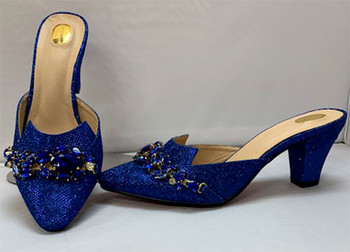 Grand Diamond Shoes #2  (Royal Blue)