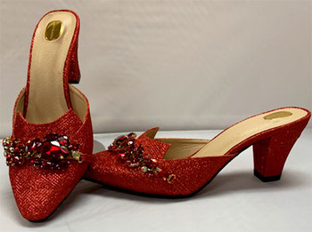 Grand Diamond Shoes #4 (Red)