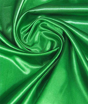 Nigerian Green Satin Fabric