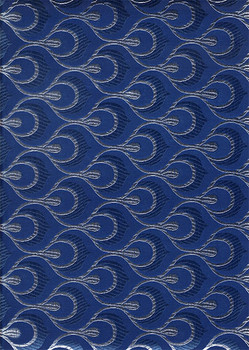 2pcs Sego Headtie # 15 (Navy Blue/Silver)