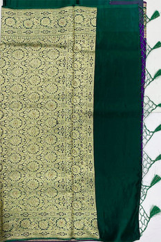 Saree George 28 (Purple/Green)