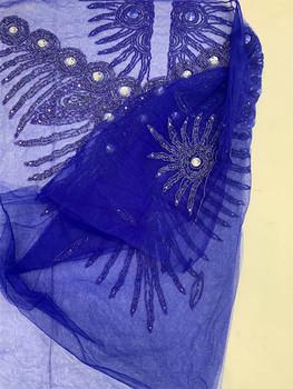 Blouse Piece # 27 (Royal Blue)
