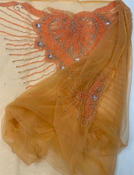 Blouse Piece # 33 (Light Orange)