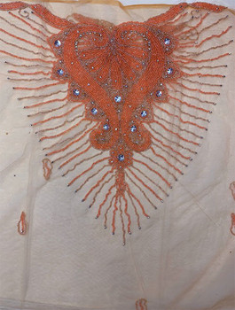 Blouse Piece # 33 (Light Orange)
