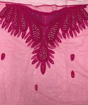 Blouse Piece # 35 (Hot Pink)