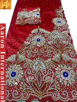 First Lady Wrapper 93 (Red) with Blouse Piece