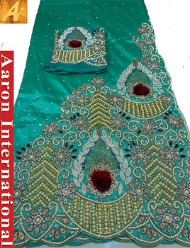 First Lady Wrapper 97 (Mint Green) with Blouse Piece
