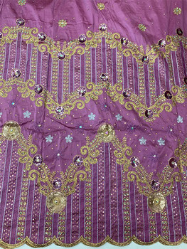 2pc Wrapper # 18 (Lilac) with  Blouse Piece