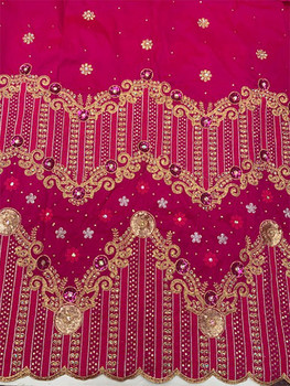 2pc Wrapper # 6 (Hot Pink) with  Blouse Piece
