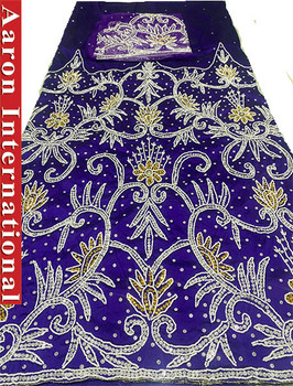 First Lady Wrapper 27 (Purple) with Blouse Piece
