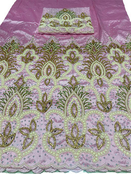 First Lady Wrapper 2 (Pink) with Blouse Piece