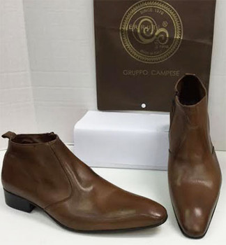 Men's Shoes A21 (Brown) Sz:43