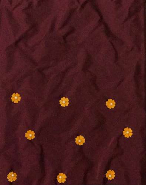 2pcs Sego Headtie 256 (Burgundy)