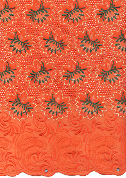 Voile Lace 215 (Coral)