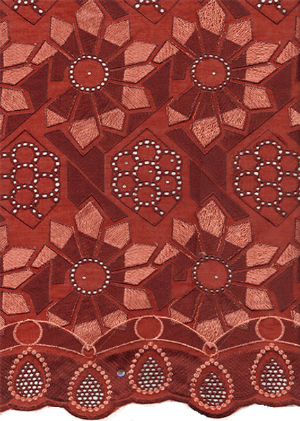 Voile Lace 218 (Burgundy)