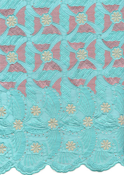 Voile Lace 228 (Mint Green)