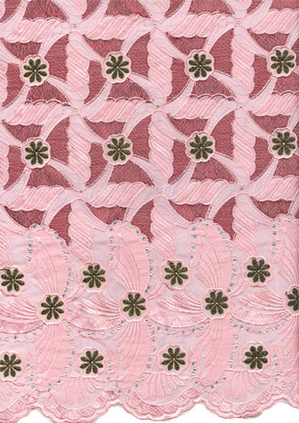 Voile Lace 234 (Pink)
