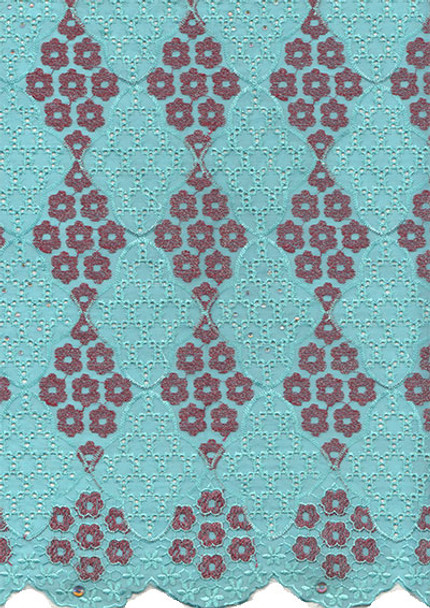 Voile Lace 240 (Mint Green)