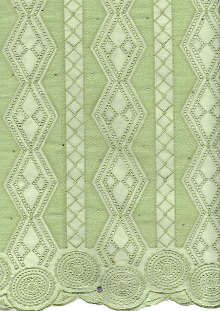 Voile Lace 246 (Light Lime)