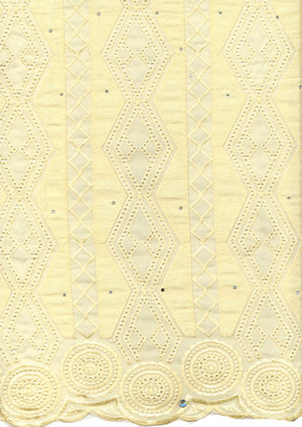 Voile Lace 251 (Light Yellow)