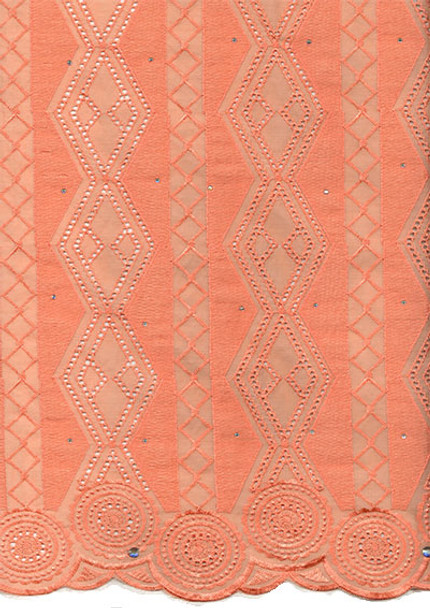 Voile Lace 252 (Peach)