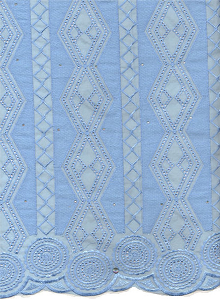 Voile Lace 253 (Baby Blue)