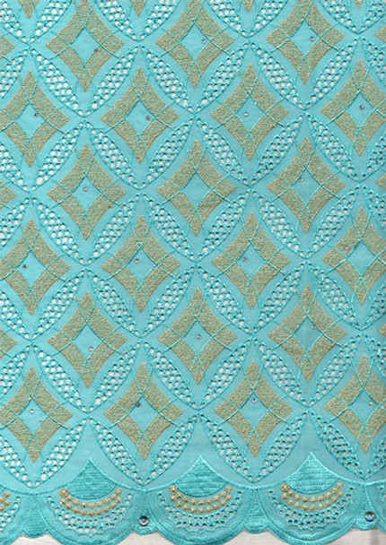 Voile Lace 254 (Mint)