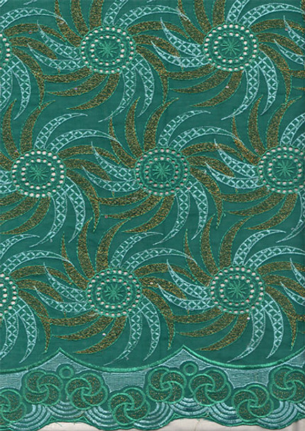 Voile Lace 268  (Green)