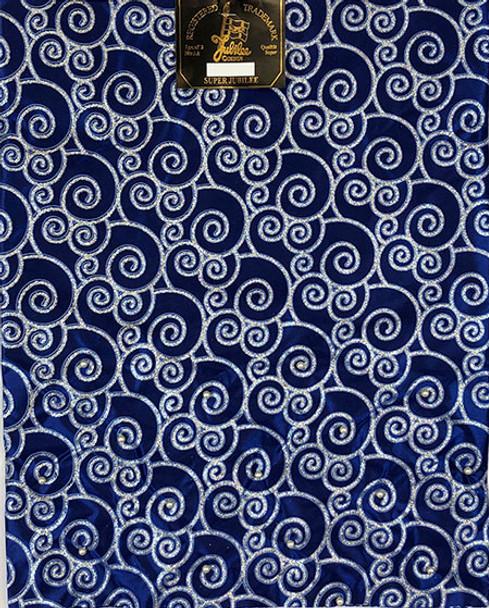 2 pcs Sego Headtie 24 (Royal Blue/Silver)
