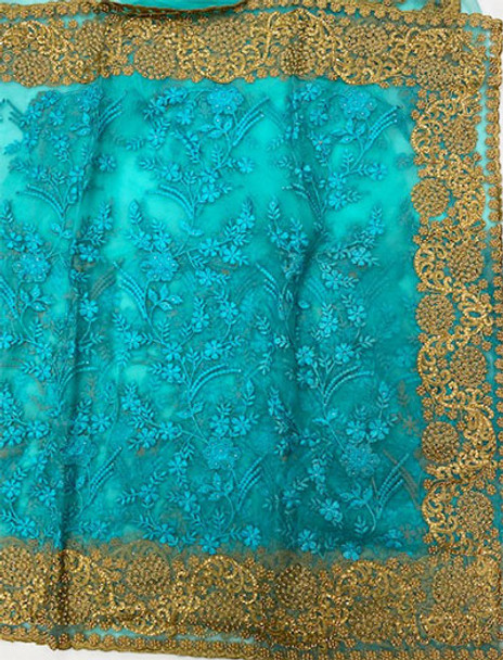 Net Saree George 110 (Mint)