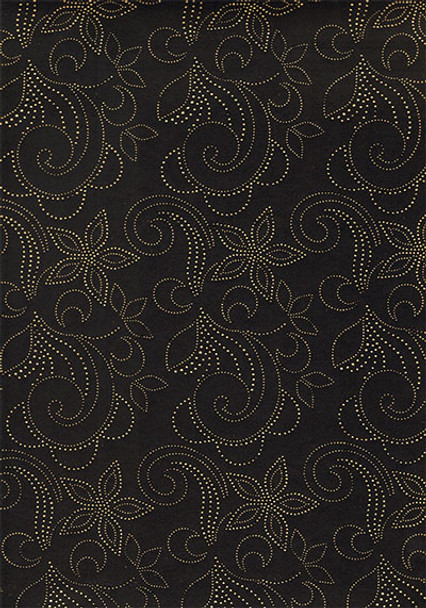 2pcs Sego Headtie # 33 (Black/Gold)